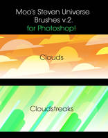 Moos StevenUniverse Brushes v2 by 2Mummu