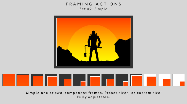 Framing actions - 2 - Simple