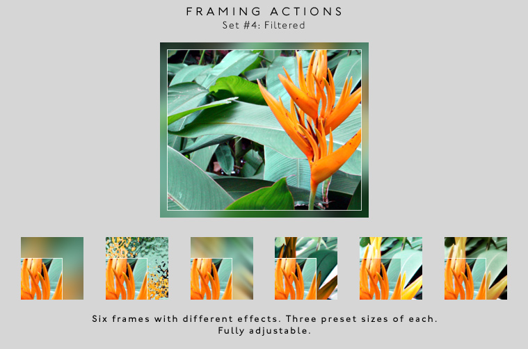 Framing actions - 4 - Filtered