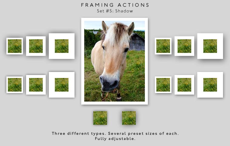 Framing actions - 5 - Shadow