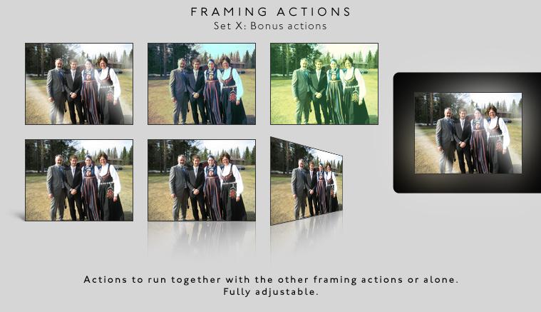 Framing actions - X - Bonus