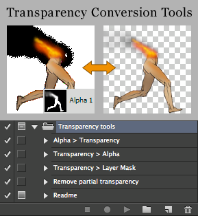 Transparency Conversion Tools v2