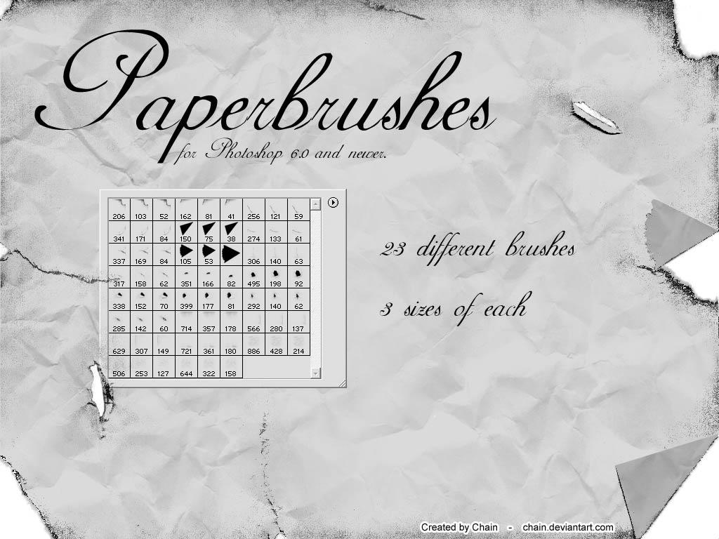 Paperbrushes