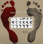Footprint brushes