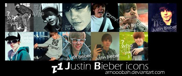 justin bieber icons. Justin Bieber icons by ~ArNoOoBah on deviantART