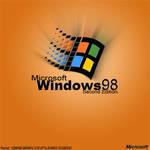 Windows 98 CD Cover