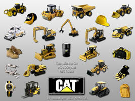 Caterpillar Dock Icons