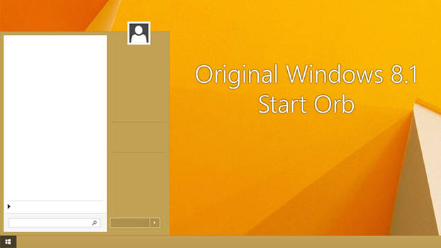 ORIGINAL WINDOWS 8.1 START ORB