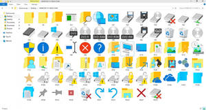 Classic Windows 10 Build 10056 Icons