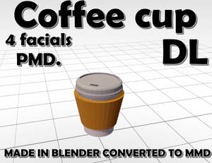 Coffee Cup MMD DL