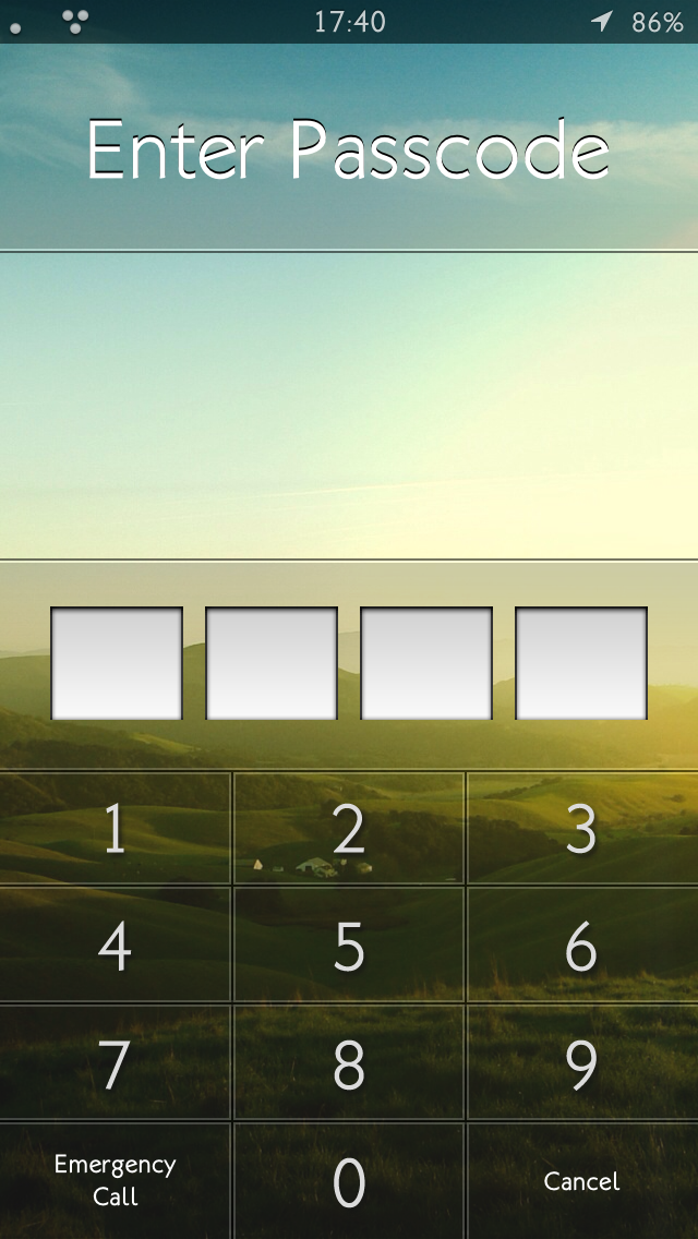 iOS6: Minuet keypad by nienque