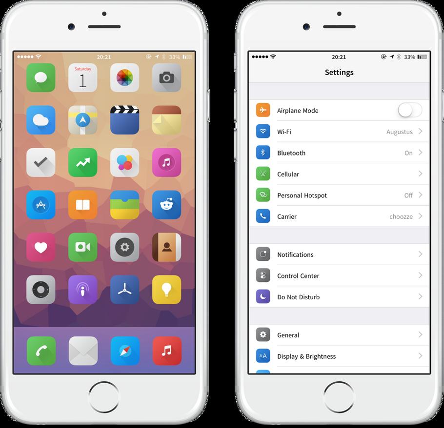 Zanilla iOS8 supplement by nienque