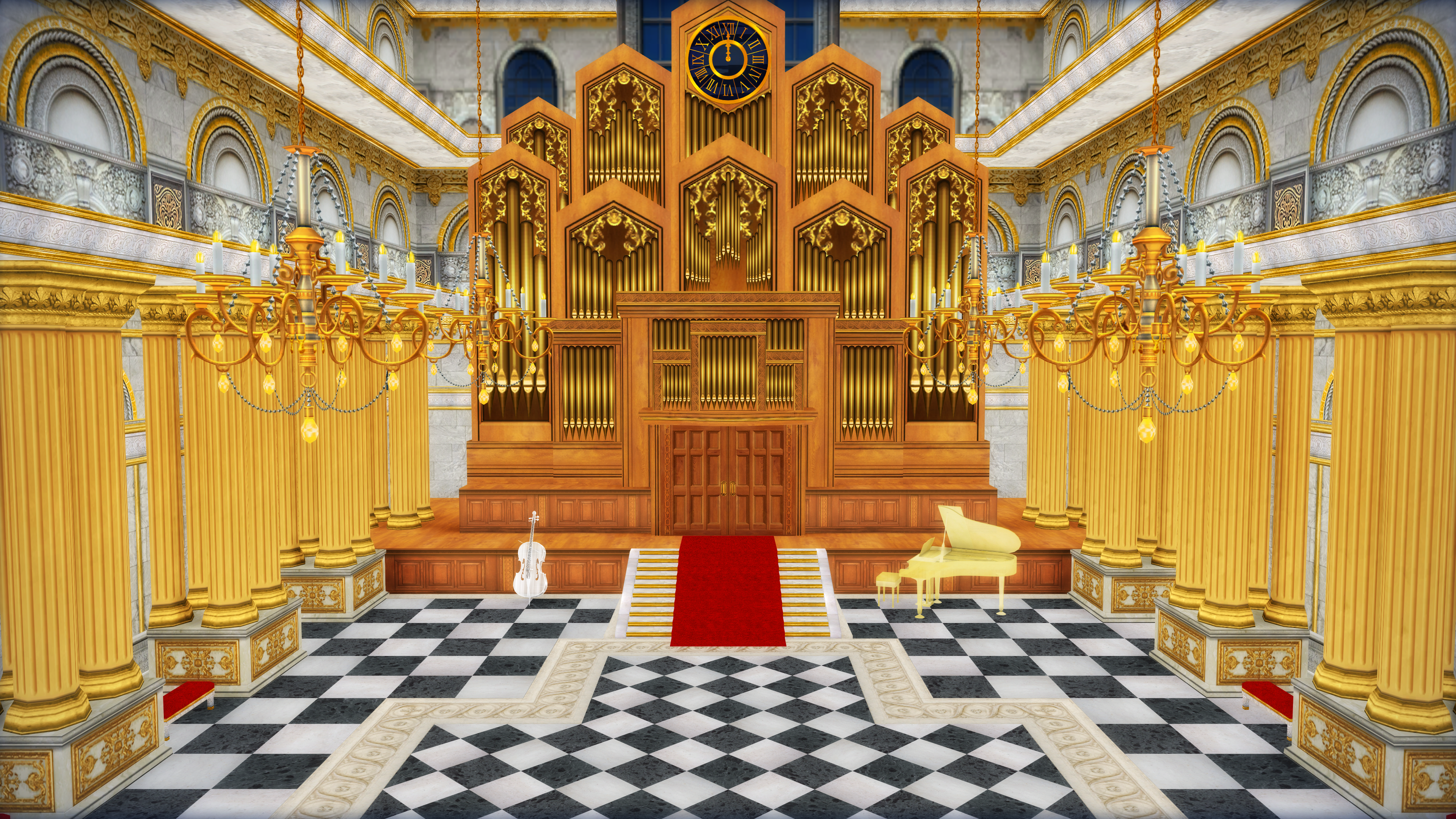 Mmd Church Stage Wwwtopsimagescom