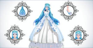 TDA Blue Rose Miku Ver 2.0 {DL}