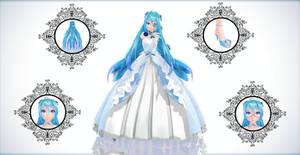 TDA Blue Rose Miku Ver 2.0 {DL} by HarukaSakurai