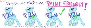 MLP P2U Base #2 [Paint Friendly!]