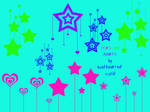stars and hearts brushes