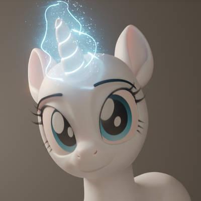 Unicorn Magic Animation Render Test