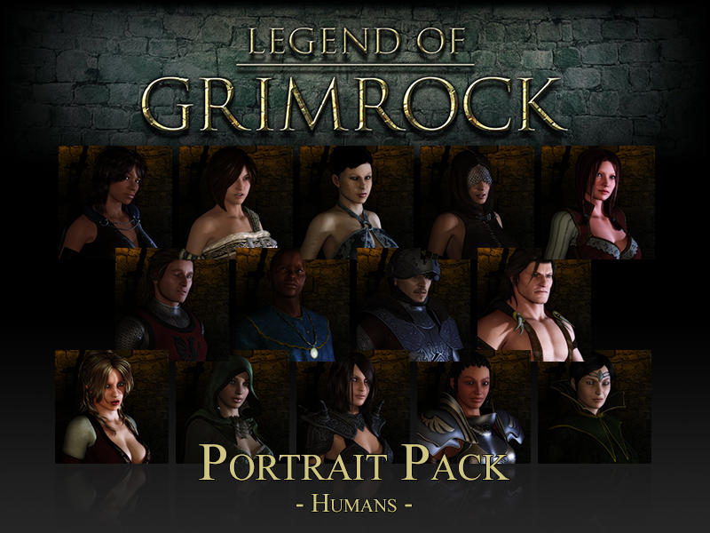 Legend of Grimrock Portrait Pack by Hrtc