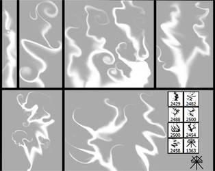 Smoke - Brush Set by GuruGrendo