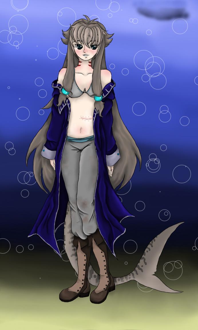 shark babe by tthe13th