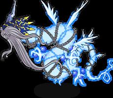 Azulongmon by DigimonGif