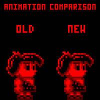 Walk animation comparison by Hunter-Studios