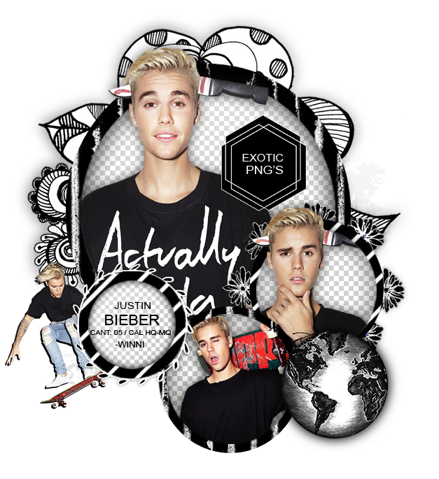pack png 1222 justin bieber by exoticpngs on deviantart