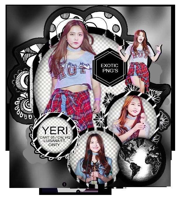 Pack Png 1460 // Yeri (Red Velvet) By ExoticPngs On DeviantArt