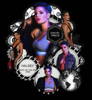 Pack Png 1498 // Halsey. by ExoticPngs