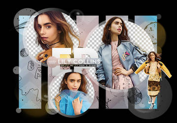 Pack Png 1971 // Lily Collins. by ExoticPngs
