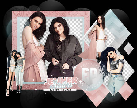 Pack Png 2095 // Jenner Sisters. by ExoticPngs
