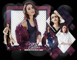 Pack Png 2138 // Lily Collins. by ExoticPngs