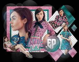 Pack Png 2169 // Lily Collins. by ExoticPngs