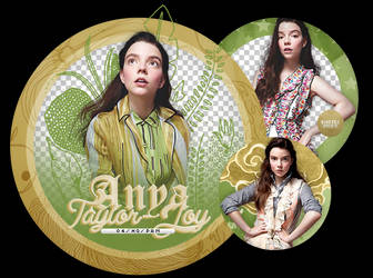 Pack Png 2390 // Anya Taylor-Joy. by ExoticPngs