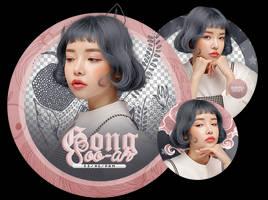 Pack Png 2438 // Gong Soo-ah. by ExoticPngs