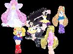 MMD lopieloo Sailor moon edits pack 4 DL
