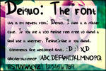 Deiquo the Font