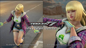 Julia's Default Outfit for Lili by CometAroma