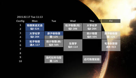 Adv Schedule 3.2.1 by XANCI