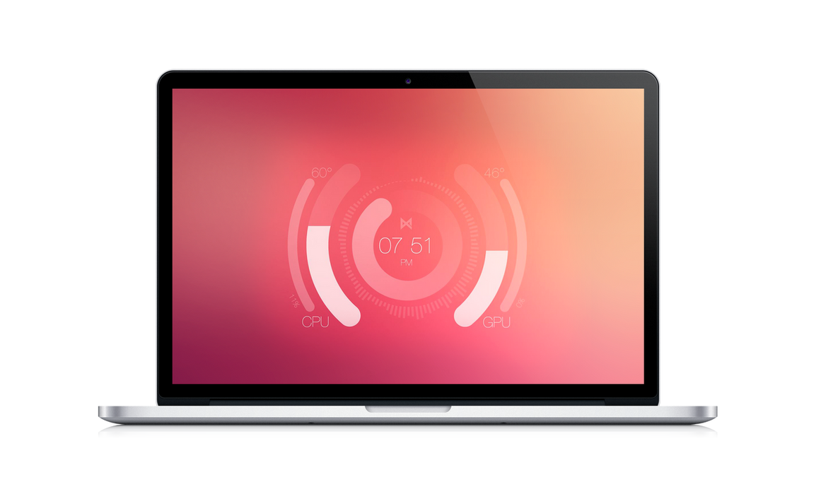 Centro for Rainmeter by Emecede