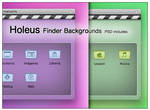 Holeus Finder Backgrounds