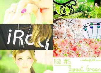 [PSD] Sweet Green