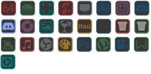 Icones PNG-2 para Nexus Dock