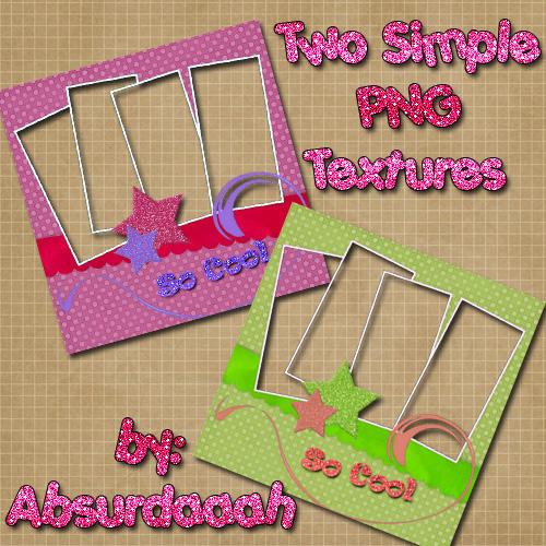 Two Simple Textures by absurdaaah