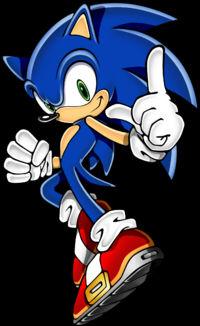 Slash and Aege vs Sonic (animation)