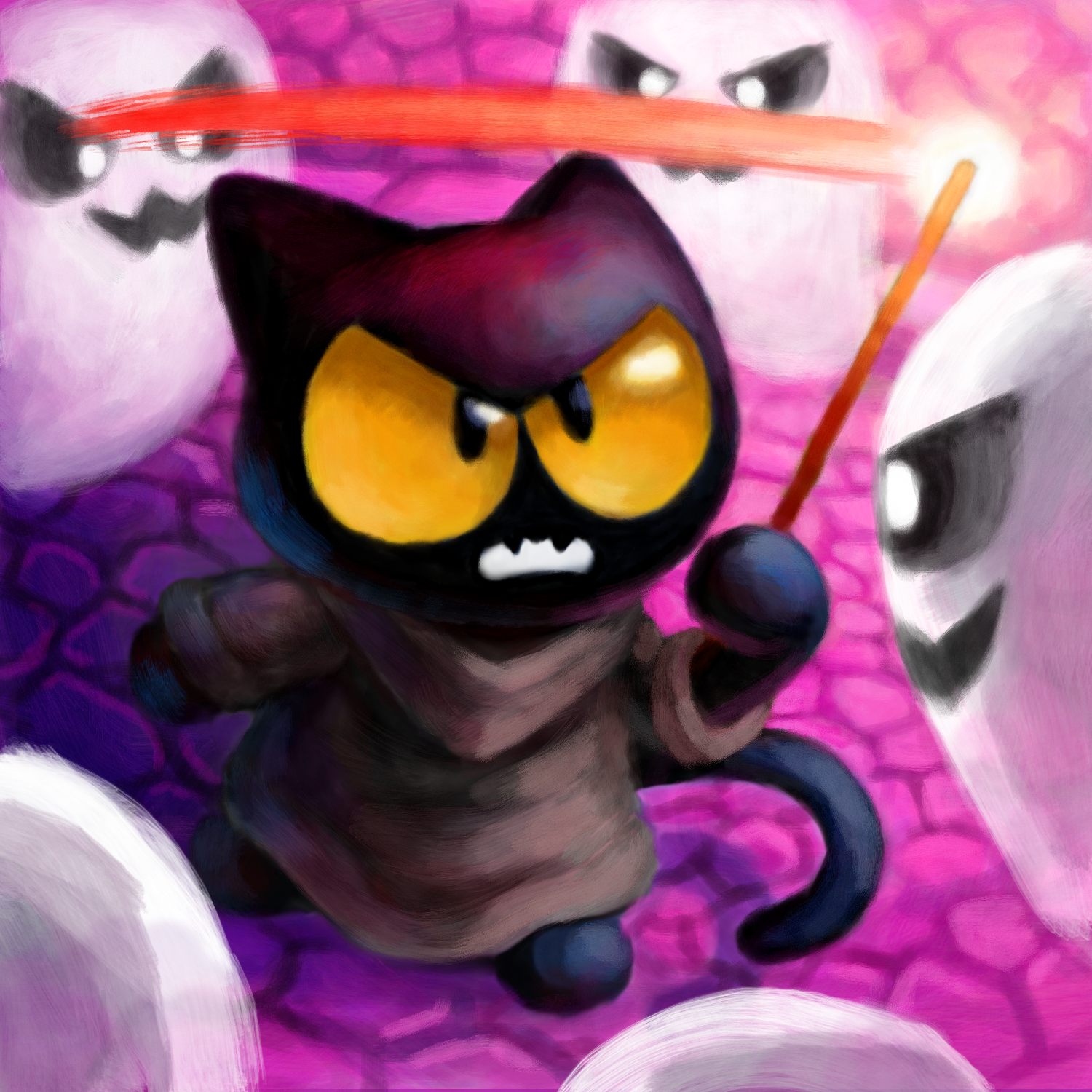 Google Halloween Cat Game favourites by Mixola200815 on DeviantArt