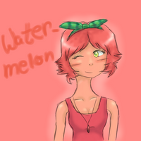 Watermellon Dollicious Fan Art