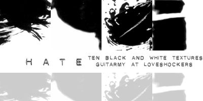 black and white textures