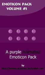 Emoticon Pack Volume '1